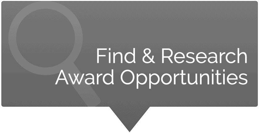 Find and Research Award Opportunities